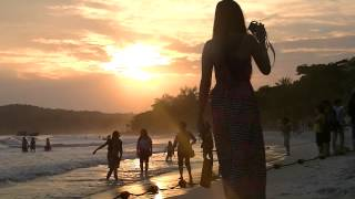 เกาะเสม็ดVideo essay bangkok samet island No,3 The sai kaew beach of sunset サメット島