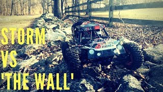 Wltoys Storm RC Buggy Vs 'The Wall' - Driftomaniacs