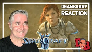 Ghosts of the Past Trailer - StarCraft II Wings of Liberty REACTION