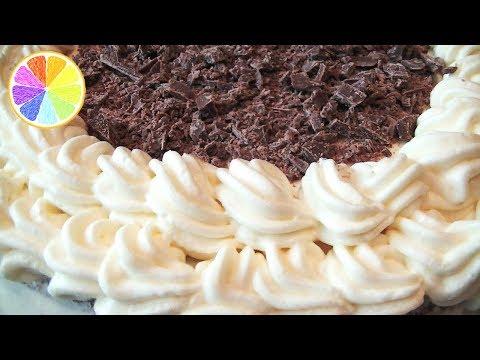 Сметанно-сливочный крем для торта. Как легко приготовить густой и очень вкусный крем.