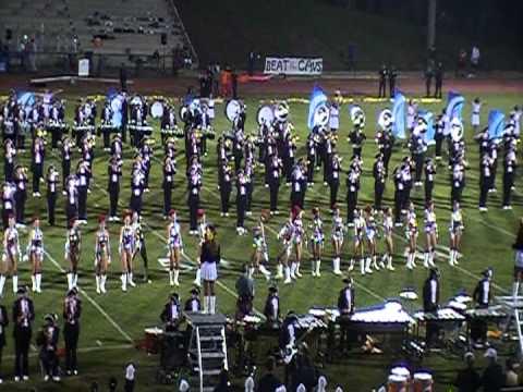 Homewood Patriot Marching Band 2012 - HHS @ John Carroll Catholic High School #1