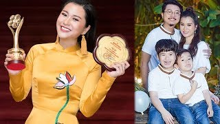 """Hé lộ cuộc sống hôn nhân của sao nữ """"vượt mặt"""" Hoài Linh, Trấn Thành ẵm giải Mai Vàng 2018"""