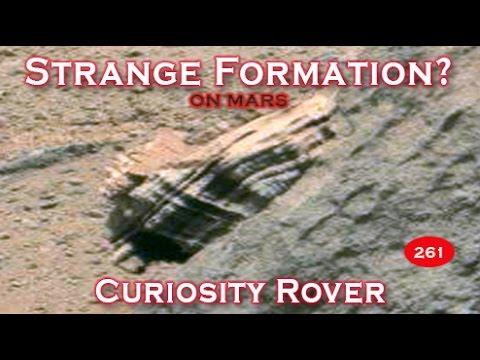 Strange Formation Near Multiple Anomalies On Mars?  Curiosity Rover Oct 2014