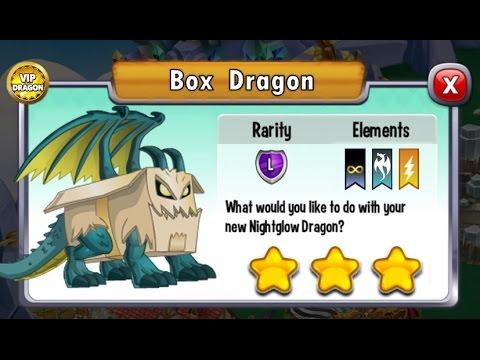 Dragon City - Box Dragon + Fighting Boss [Legendary Dragon 2017]