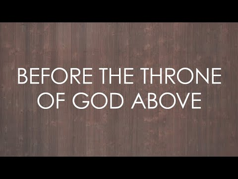 Sovereign Grace Music - Before The Throne Of God Above