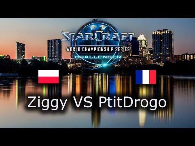 Ziggy VS PtitDrogo - EU Open Qualifiers for Challenger WCS Austin 2018 - polski komentarz