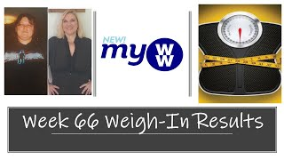 WEEK 66 WEIGH-IN RESULTS | MEAL PREP REVIEW | MyWW