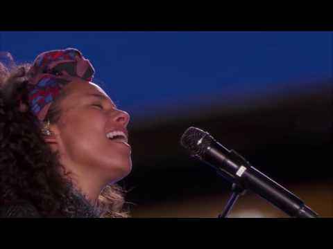Alicia Keys  John Mayer -  If I aint got you -  Gravity (Good Quality)