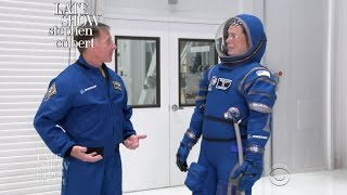 Stephen Visits NASA To Begin His Astronaut Training