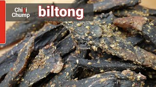 Make your own delicious Biltong (a better version of Jerky!)