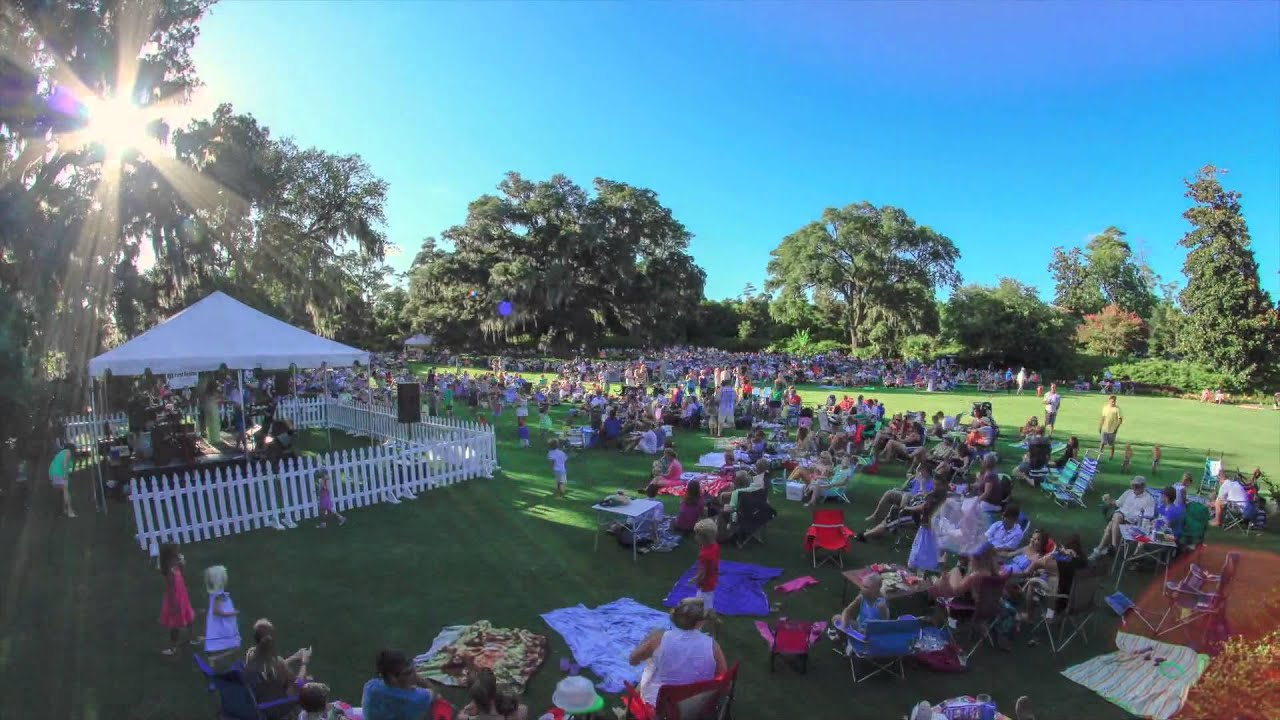 Airlie Gardens Summer Concert Series Youtube