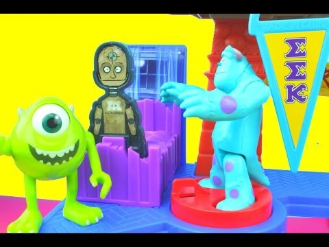 Imaginext Scare Games Playset Sulley & Mike Scare against JOX Monsters University