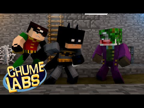 Minecraft: BATMAN VS CORINGA! (Chume Labs 2 #65)