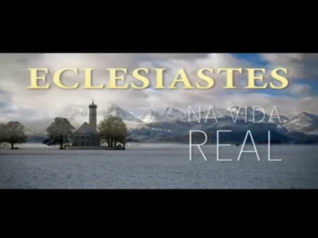 "Eclesiastes na Vida Real: Na vida, todo mundo está sob o ""touch"" de um superior."