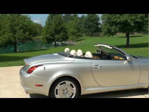 Sold 2002 Lexus Sc 430 Hard Top Convertible For Sale