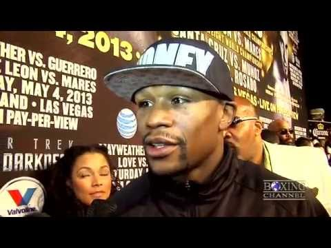 Floyd Mayweather reacts to Ruben Guerrero outburst, was texting Miss Jackson