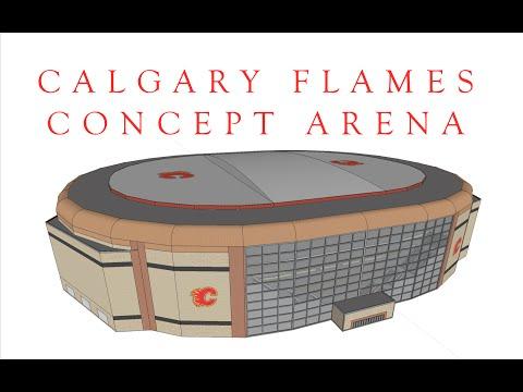 Calgary Flames Concept Arena Final version