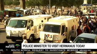 Police Minister set to visit Hermanus on Friday amid violent protests