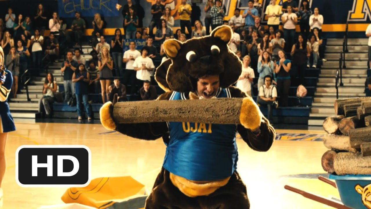 easy a 8 movie clip a woodchuck mascot 2010 hd youtube