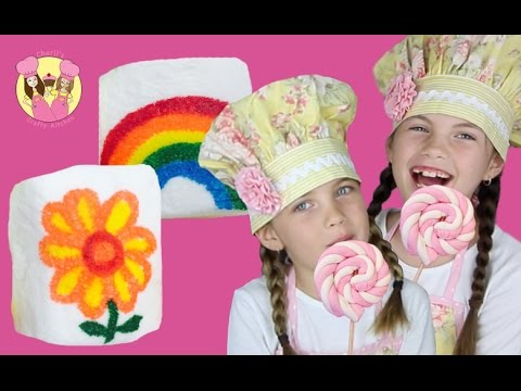 MARSHMALLOW PARTY TREATS - 2 Easy Peasy Party Ideas By Charli's Crafty Kitchen Kids How To Baking