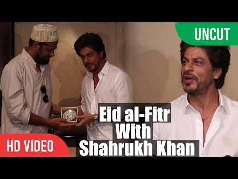 UNCUT - Eid al-Fitr With Shahrukh Khan   SRK EID Celebration Full Video   EID Press Conference 2017