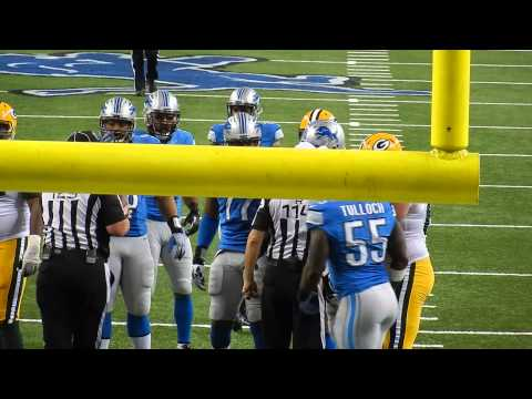 Green Bay Packers vs. Detroit Lions: Nick Fairley Sacks Matt Flynn