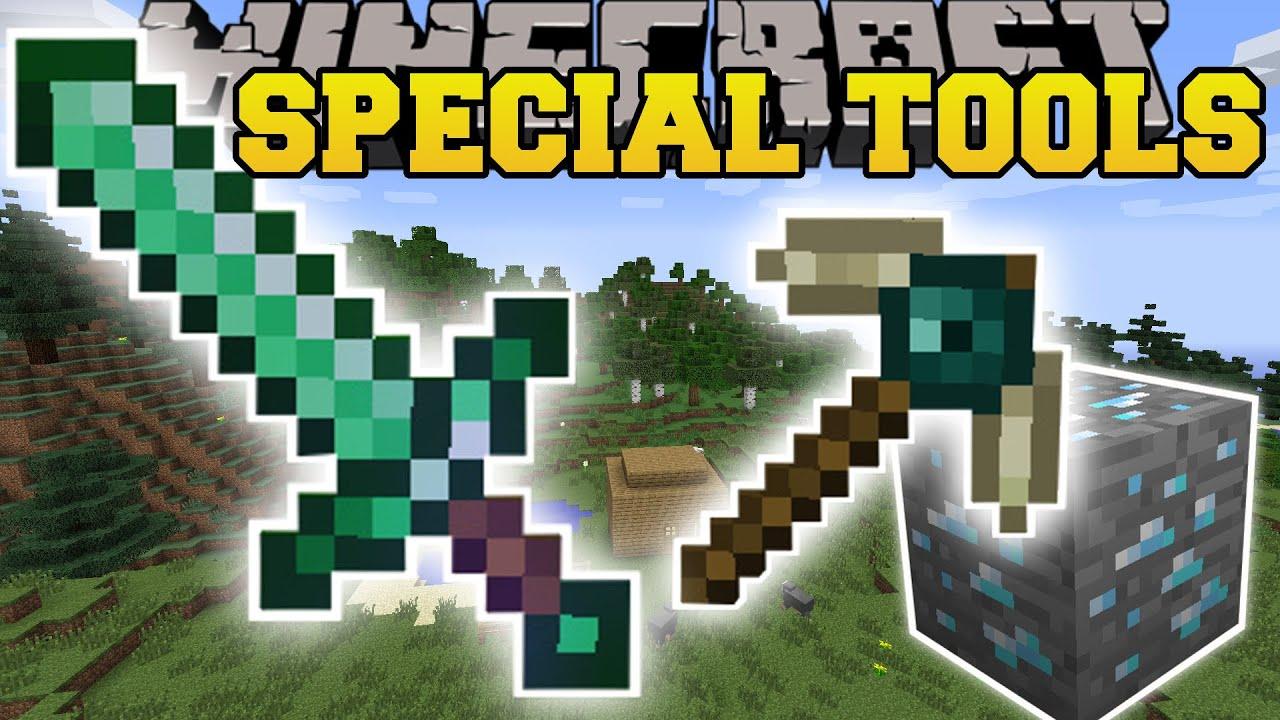 Minecraft Special Tools Mod