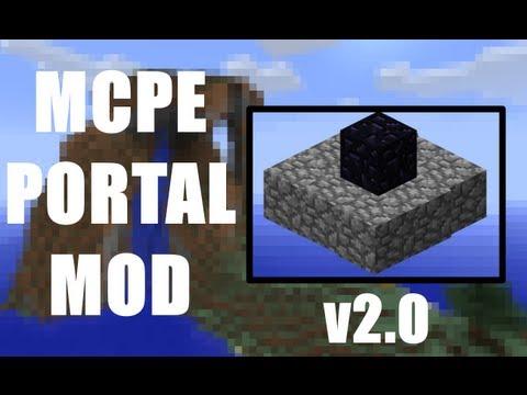 Minecraft PE - Portal Mod v2.0