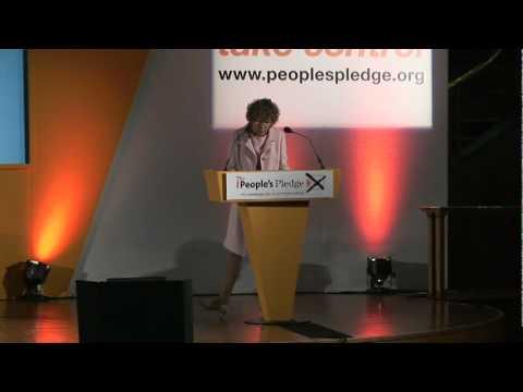 Kate Hoey Labour MP, People's Pledge EU Referendum Congress
