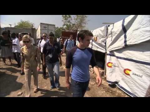 UN Foundation and Kris Allen in Haiti B-roll package