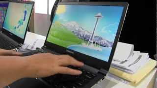 Samsung Series 9 WQHD Hands On with Retina 2560 x 1440 Display Resolution