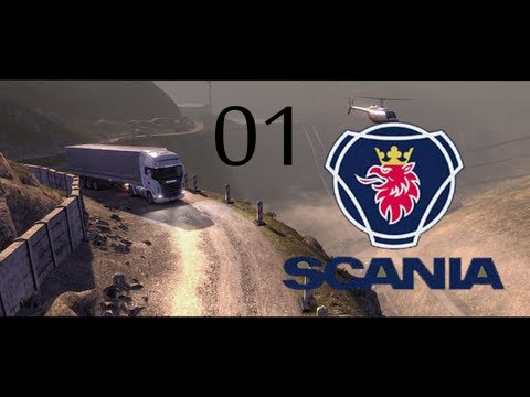 #001 Let's Play Scania Truck Driving Simulator