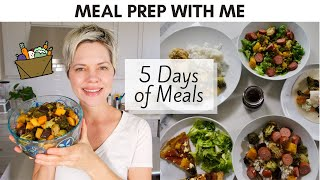 Healthy Meal Prep: 5 Days of Veggie-Based Meals (Gluten-Free)