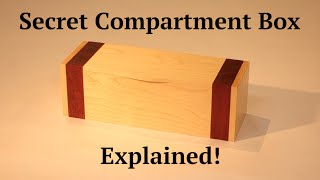 How To - Secret Compartment Box I
