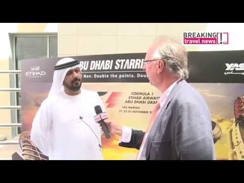 Travel Talk: Al Tareq Al Ameri, chief executive, Yas Marina Circuit