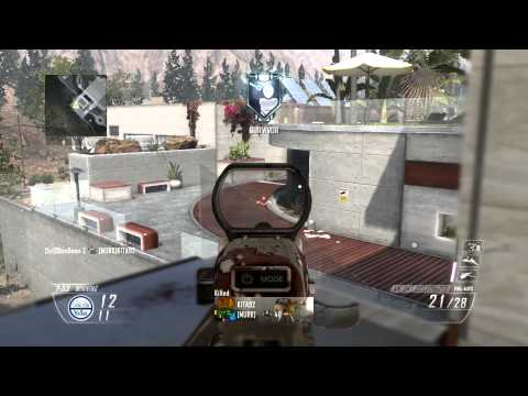 COD Black Ops 2 (30-7) Raid FFA Crazyness HD