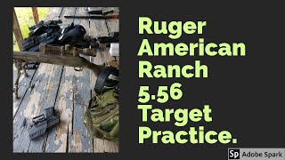 Ruger American Ranch 5.56 | 100 Yard Dial In