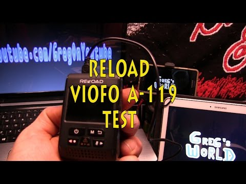 RELOAD Dashcam from Canadian Tire ,, Unbox n TEST