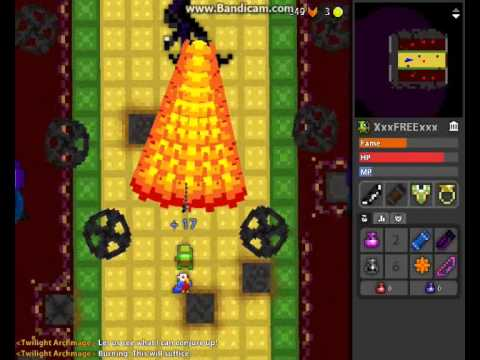 rotmg Twilight Archmage solo attempt