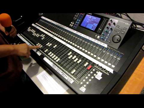 Yamaha Digital Mixing Console LS9-32 Tutorial by Haniel Trisna p3of3