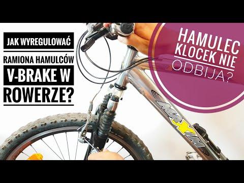 Jak Wyregulować Ramiona Hamulców V-Brake? Nie Odbija? Zrób To Sam