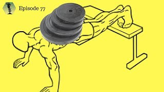 SSD Ep.77: Minisode: Weighted-push ups: Shoulder savers + the most underrated chest exercise
