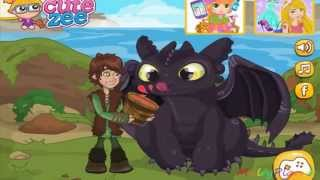 How to Train Your Dragon Surprise for Toothless / Как приручить дракона Сюрприз обед для Беззубика