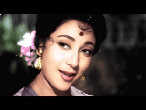 Masoom Chehra Ye Qatil Adayen, Lata Mangeshkar, Mohd Rafi, Dil Tera Deewana Song in Colour