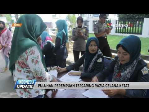 Puluhan Perempuan Aceh Terjaring Razia Celana Ketat