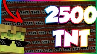 ON A FAIT CRASH LE RUSH AVEC 2500 TNT ✔️