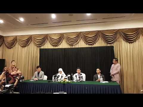Sidang akhbar khas pelakon Fattah Amin dan Nur Fazura