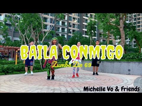 Baila Conmigo (Moomba Trap) | Zumba® ZIN 69 | Michelle Vo and Friends | ZUMBA | Dance Fitness