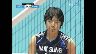 Park Jeong-Ah in Korean High School Volleyball Championship 2/2
