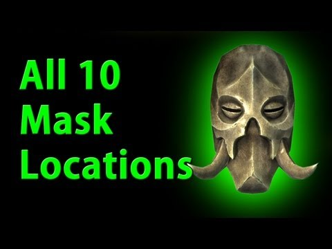 All 10 Dragon Priest Mask Locations - Skyrim - YouTube